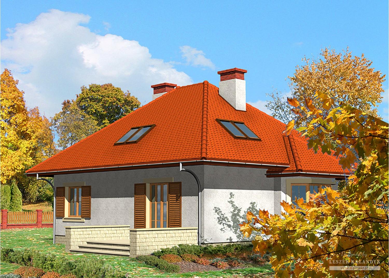 Projekt domu LK&416