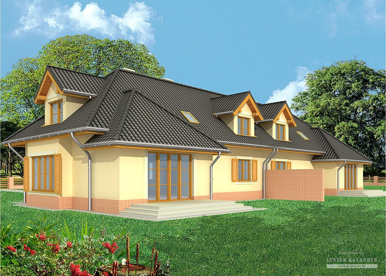 Projekt domu LK&552
