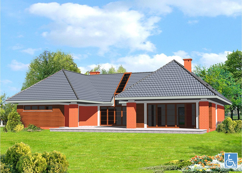 Projekt domu LK&549