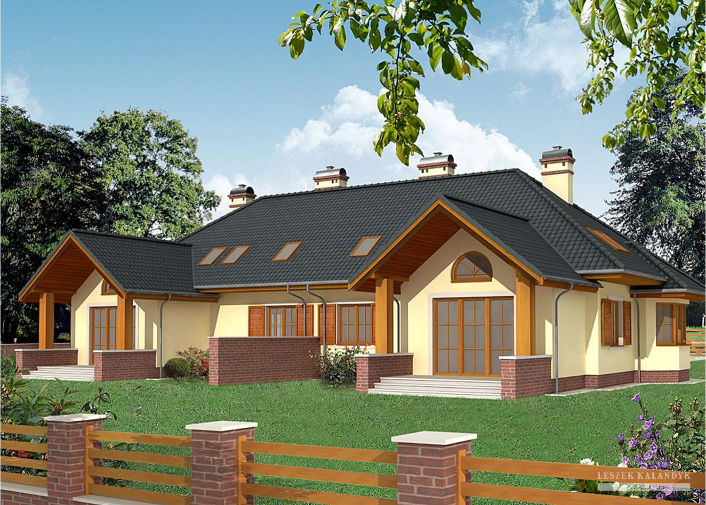 Projekt domu LK&545