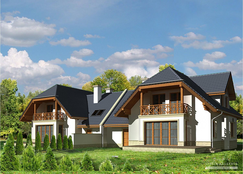 Projekt domu LK&541