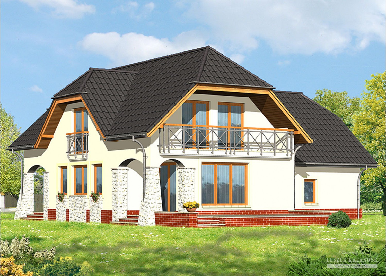 Projekt domu LK&539