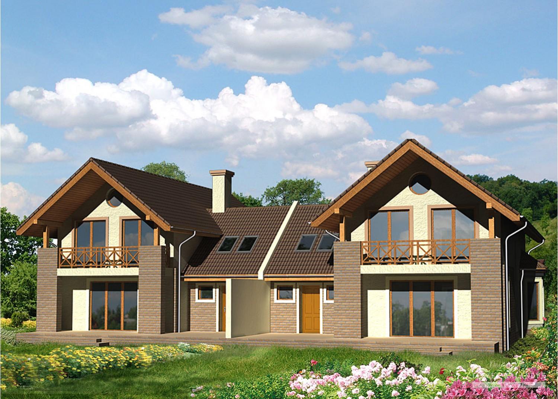 Projekt domu LK&538