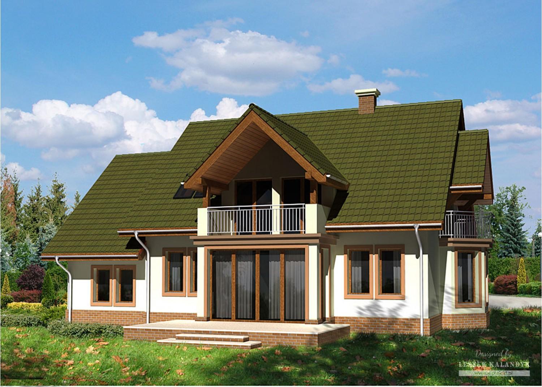 Projekt domu LK&532
