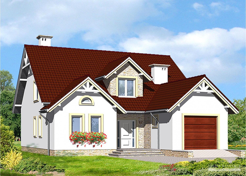 Projekt domu LK&531