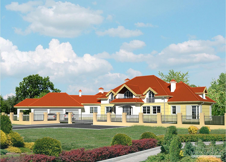 Projekt domu LK&529