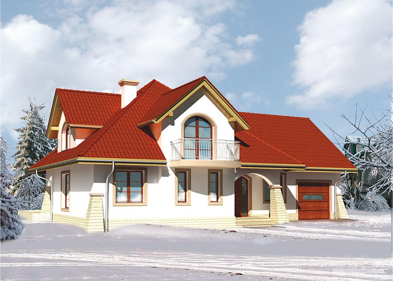 Projekt domu LK&528