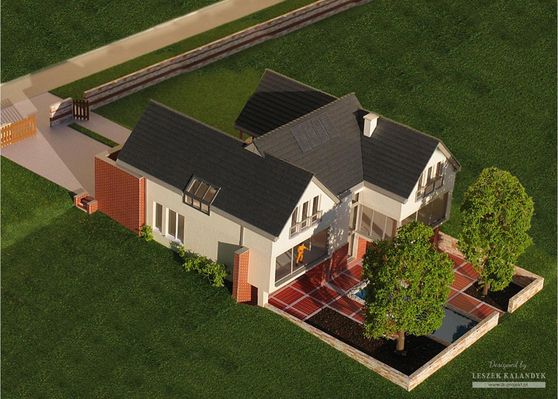 Projekt domu LK&525