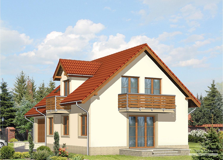 Projekt domu LK&515