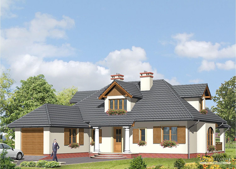 Projekt domu LK&513