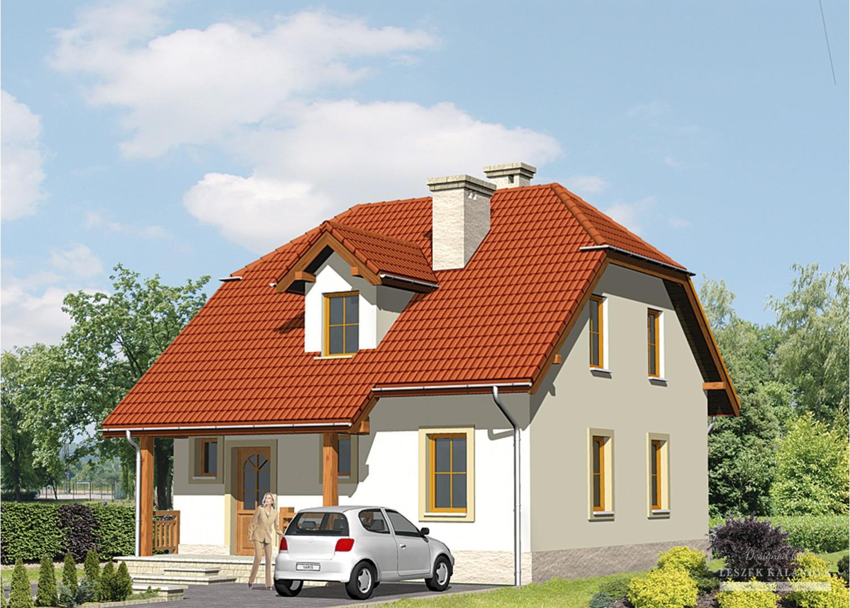 Projekt domu LK&500