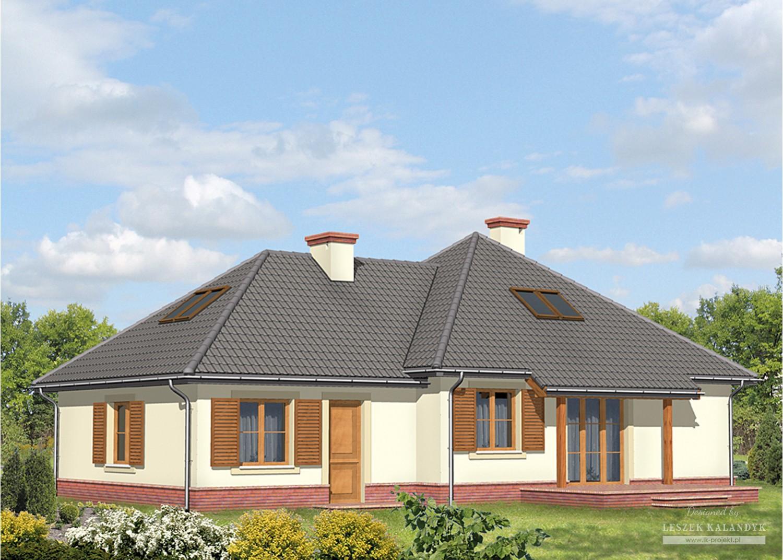 Projekt domu LK&499