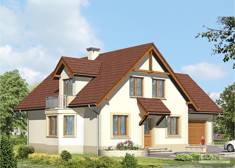 Projekt domu LK&498