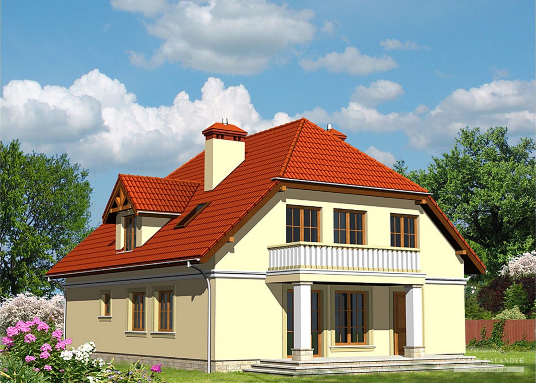 Projekt domu LK&490