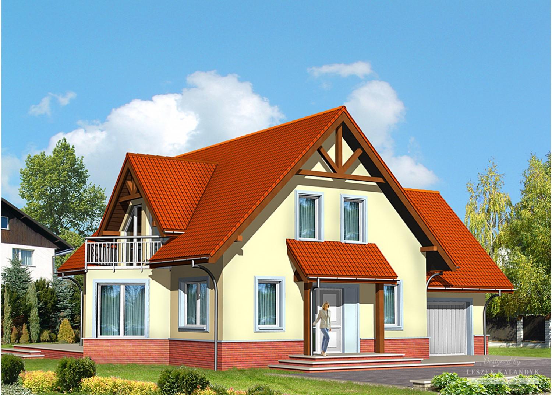 Projekt domu LK&480