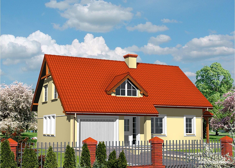 Projekt domu LK&473