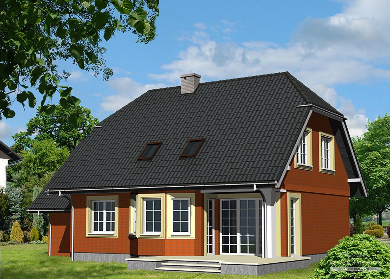 Projekt domu LK&468
