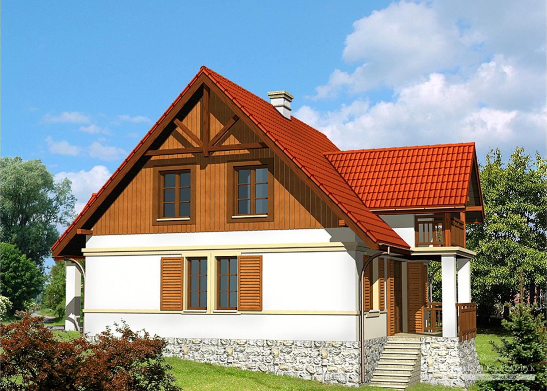 Projekt domu LK&463