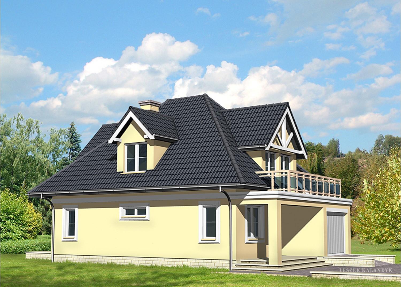Projekt domu LK&460