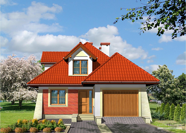 Projekt domu LK&459
