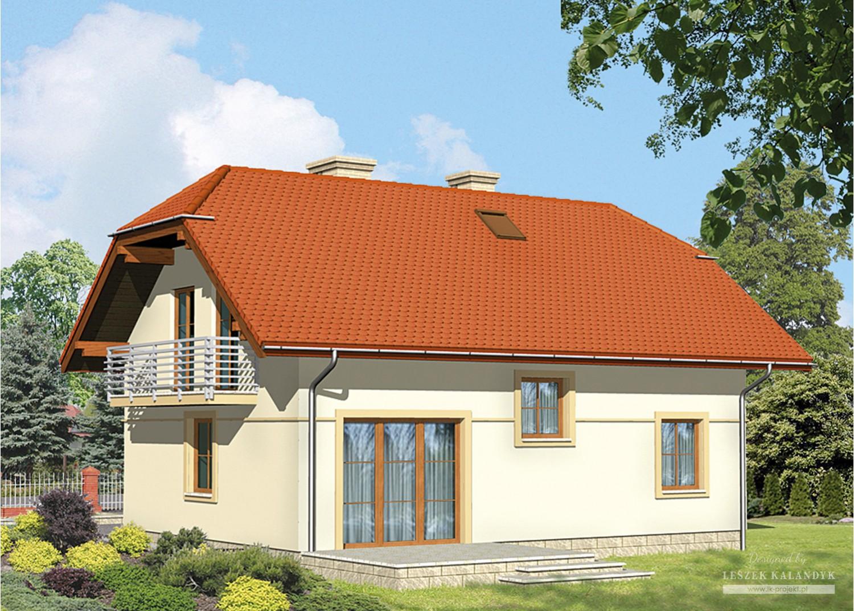Projekt domu LK&457