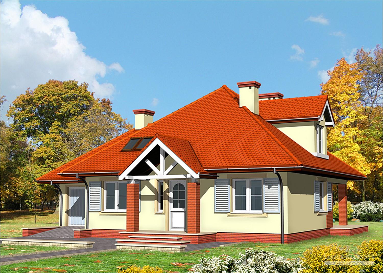 Projekt domu LK&455