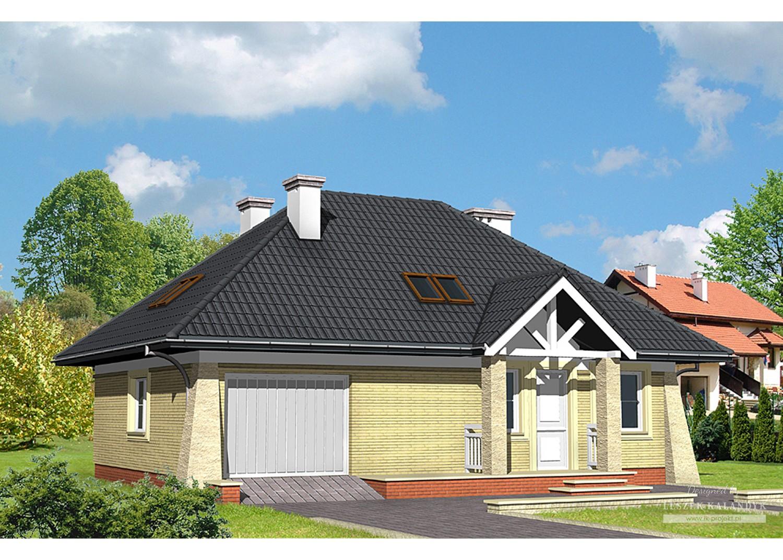 Projekt domu LK&454