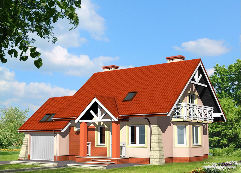 Projekt domu LK&453