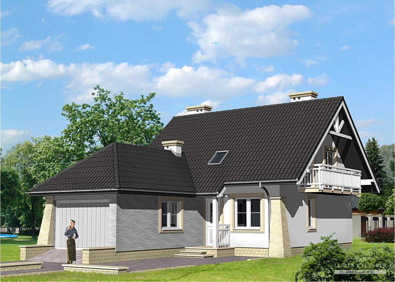 Projekt domu LK&452