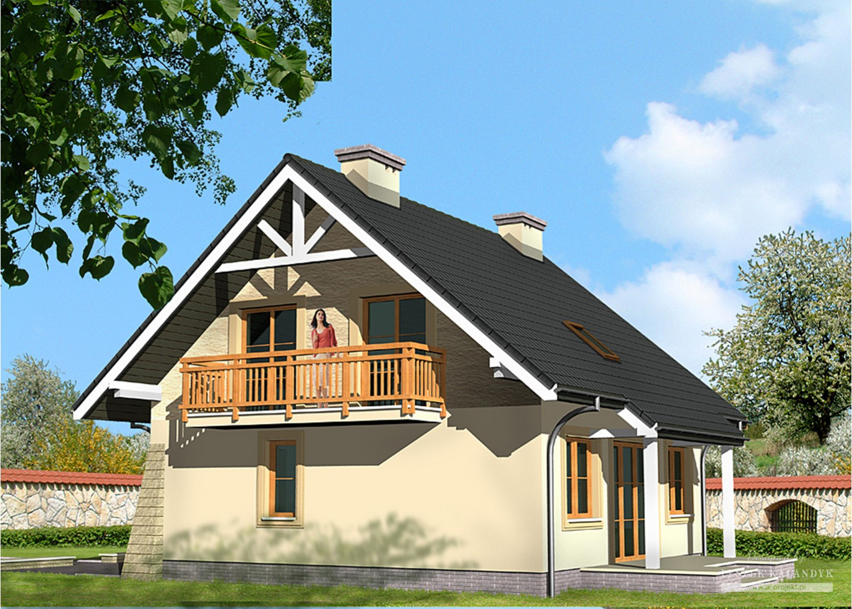 Projekt domu LK&450