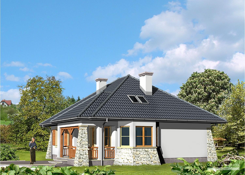 Projekt domu LK&445