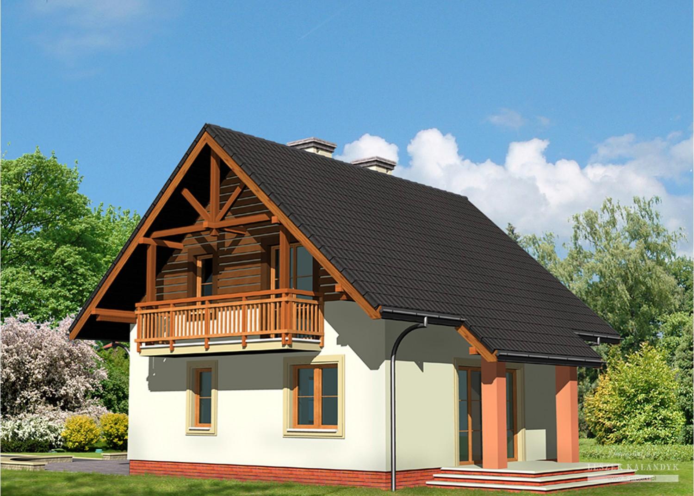 Projekt domu LK&444