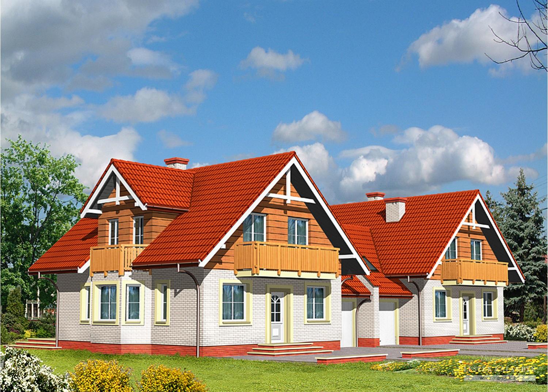 Projekt domu LK&439