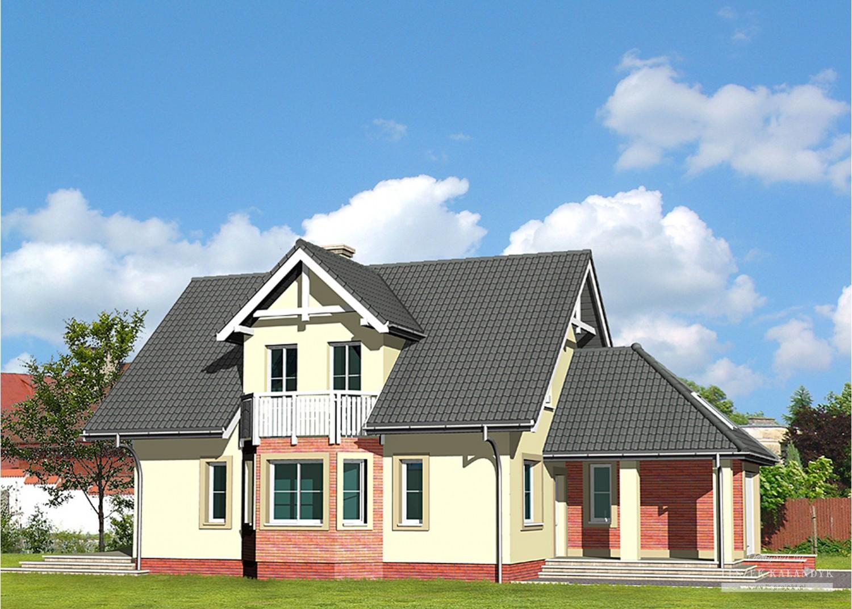 Projekt domu LK&438