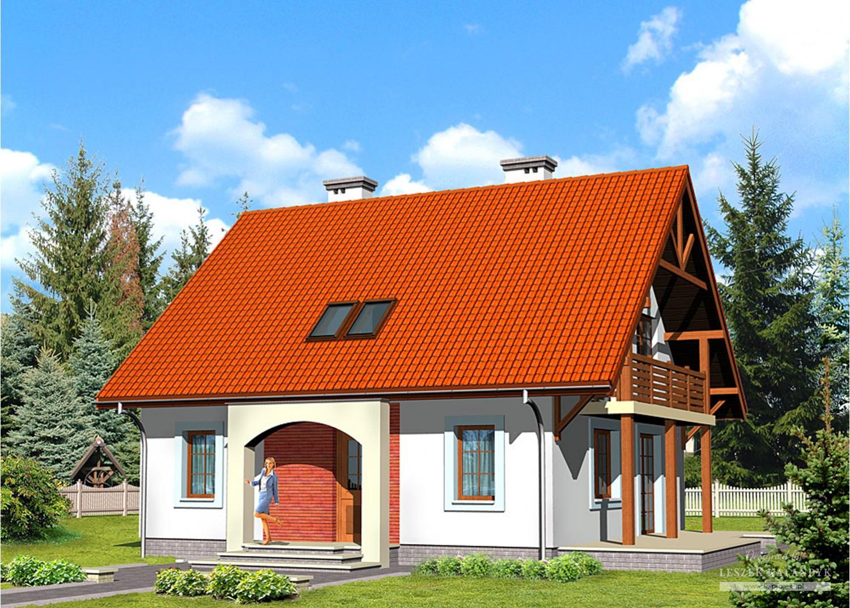 Projekt domu LK&432