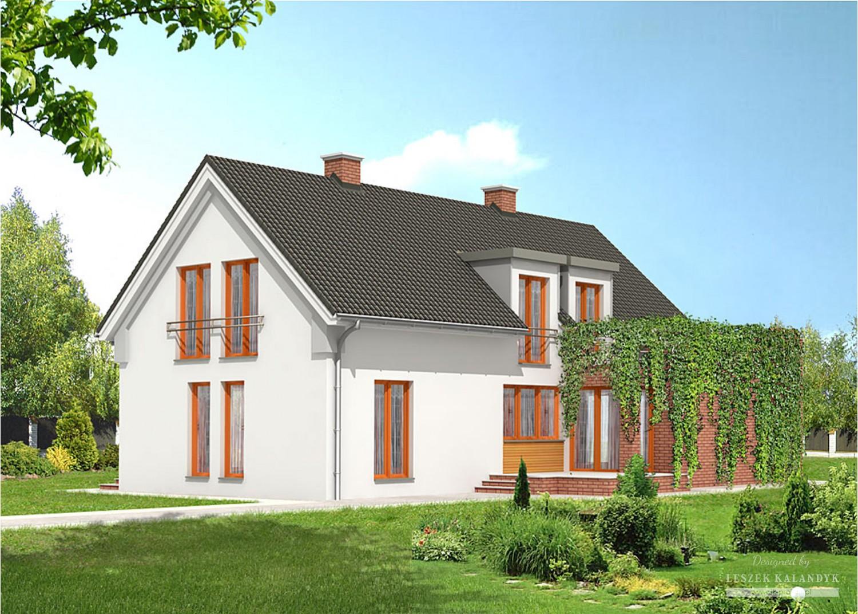 Projekt domu LK&232