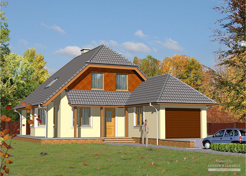 Projekt domu LK&428