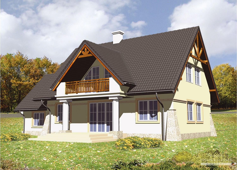 Projekt domu LK&422