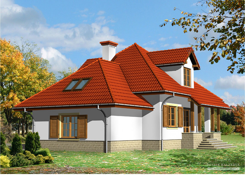 Projekt domu LK&421