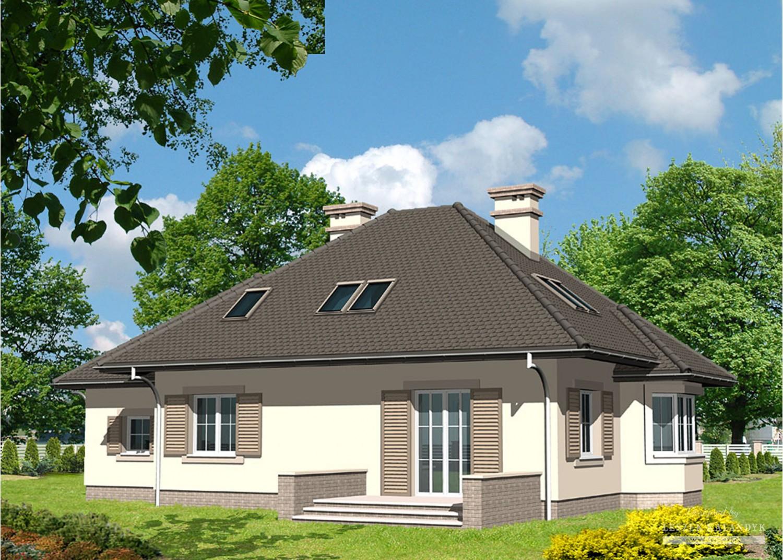 Projekt domu LK&417
