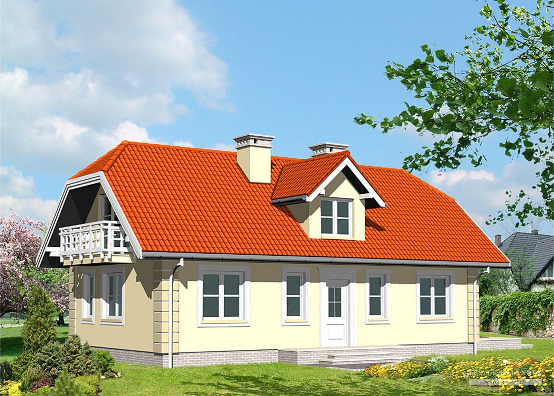 Projekt domu LK&412