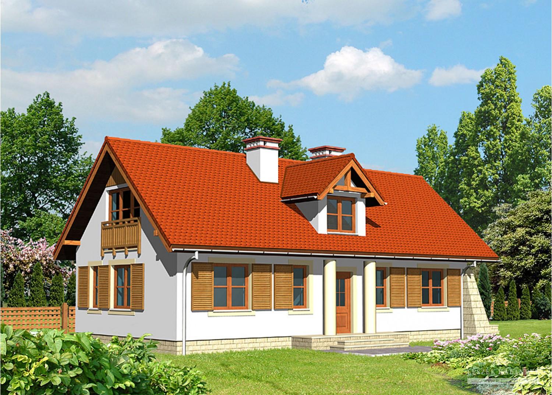 Projekt domu LK&411
