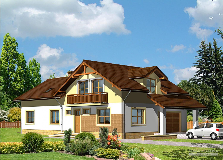 Projekt domu LK&405