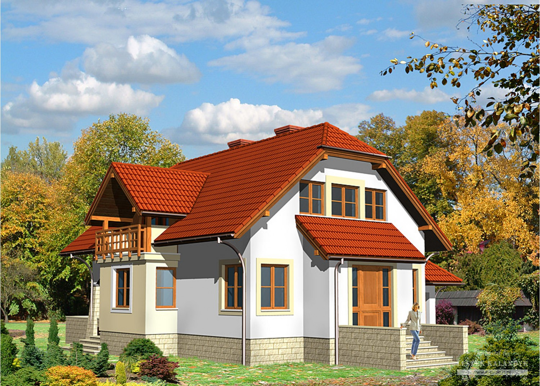 Projekt domu LK&400