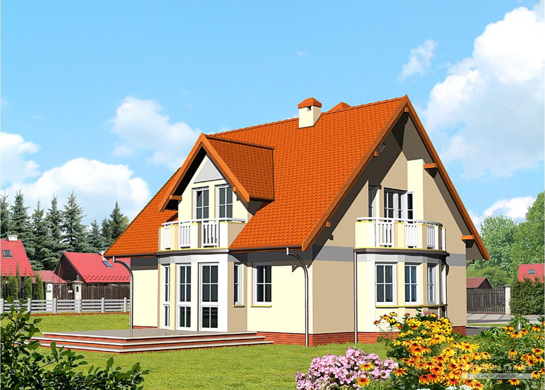 Projekt domu LK&394