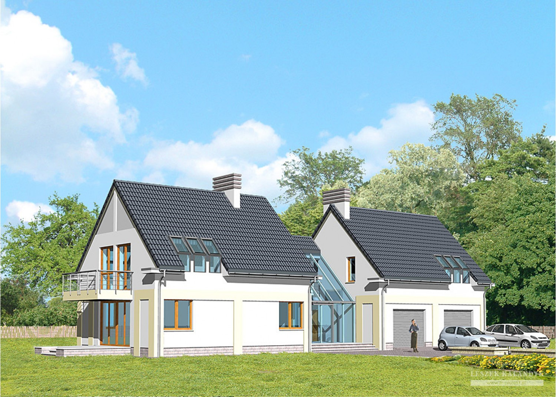 Projekt domu LK&381