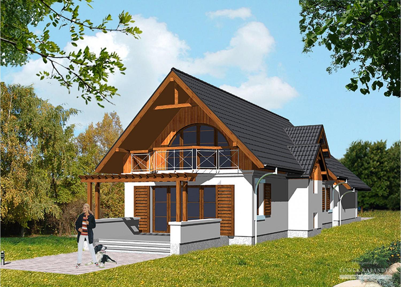 Projekt domu LK&372