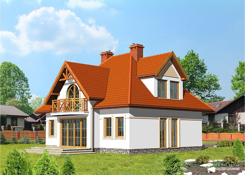 Projekt domu LK&362