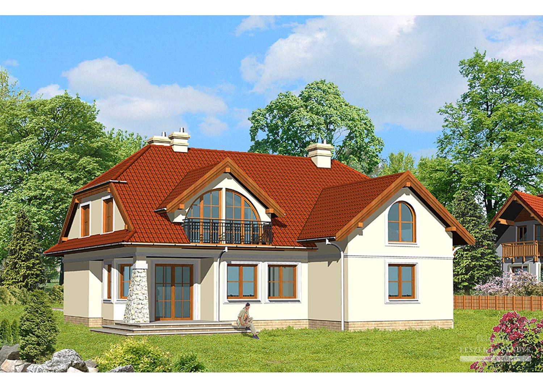 Projekt domu LK&351