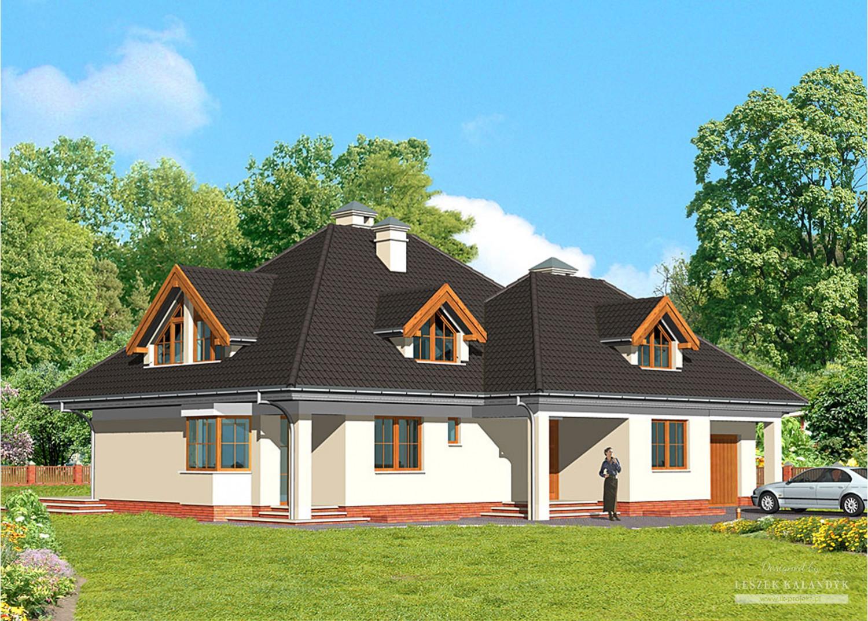 Projekt domu LK&360